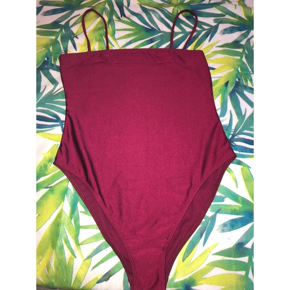 Two one piece bathing suits
